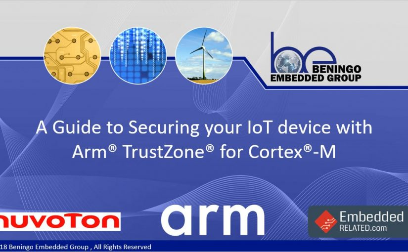 A Guide to Securing your IoT Device using Arm TrustZone for
